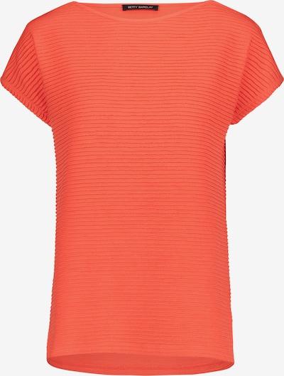 Betty Barclay Basic Shirt mit Rippenstruktur in koralle, Produktansicht