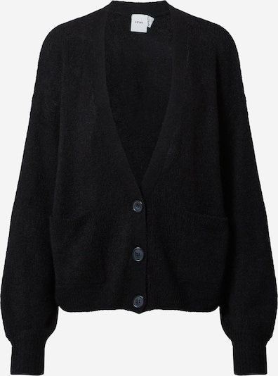 ICHI Knit cardigan 'AMARA' in black, Item view