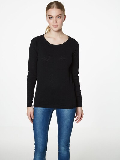 VERO MODA Sweater 'Care' in Black, View model