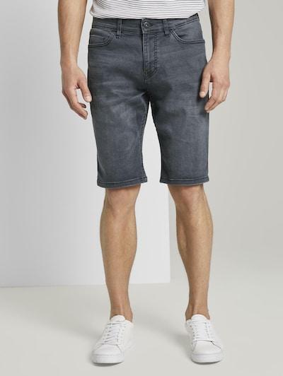 TOM TAILOR Shorts  'Josh' in basaltgrau, Modelansicht