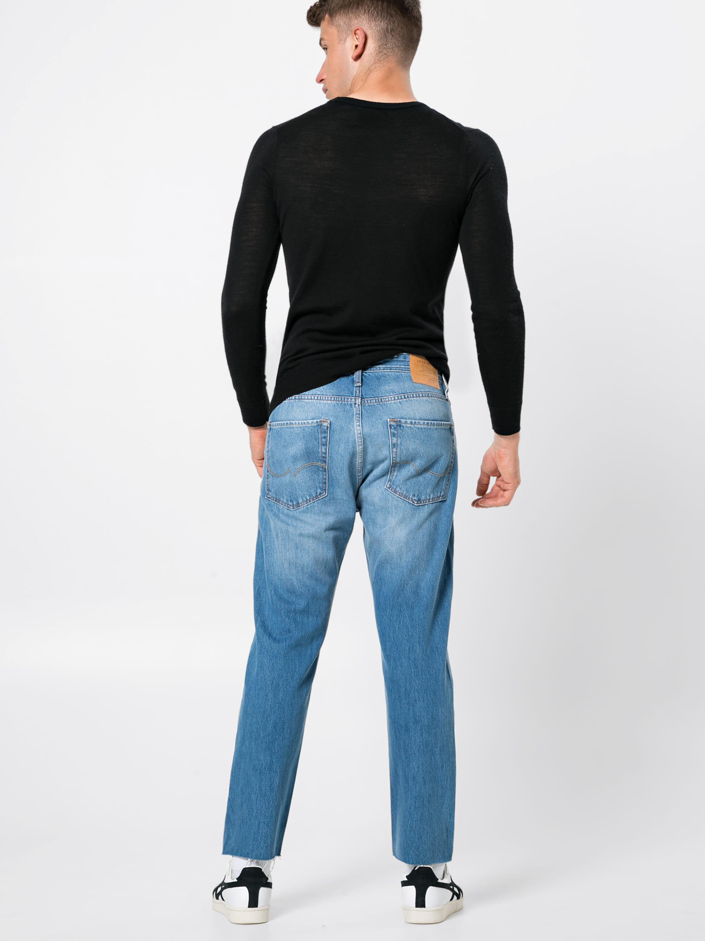 Ltd' Jeans Cut Off Jjoriginal Jones Blue 073 'jjifred Jackamp; Denim Cr In Nn80Ovmw
