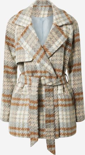 Palton de primăvară-toamnă 2NDDAY pe crem / maro / gri, Vizualizare produs