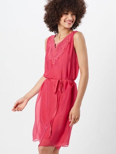 Cartoon Kleid in rosé / rot, Modelansicht