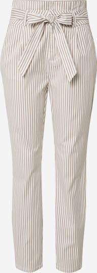 VERO MODA Pantalon 'VMEVA' en beige / blanc, Vue avec produit