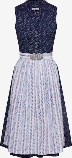ALMSACH Dirndl in Blue / Red / White, Item view