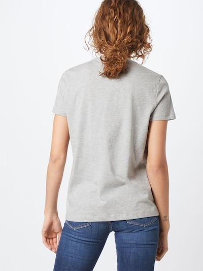 TOMMY HILFIGER Shirt 'HERITAGE CREW NECK G' in grau: Rückansicht
