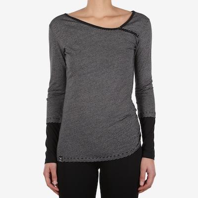 Iriedaily Shirt in schwarz / weiß: Frontalansicht