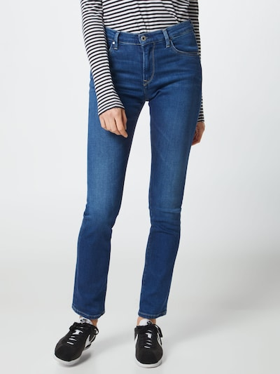 Pepe Jeans Jeans 'Victoria' in blue denim: Frontalansicht