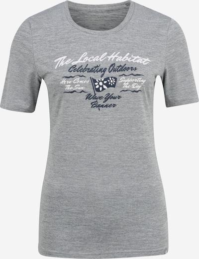KILLTEC T-shirt fonctionnel 'Pimetia' en gris chiné, Vue avec produit