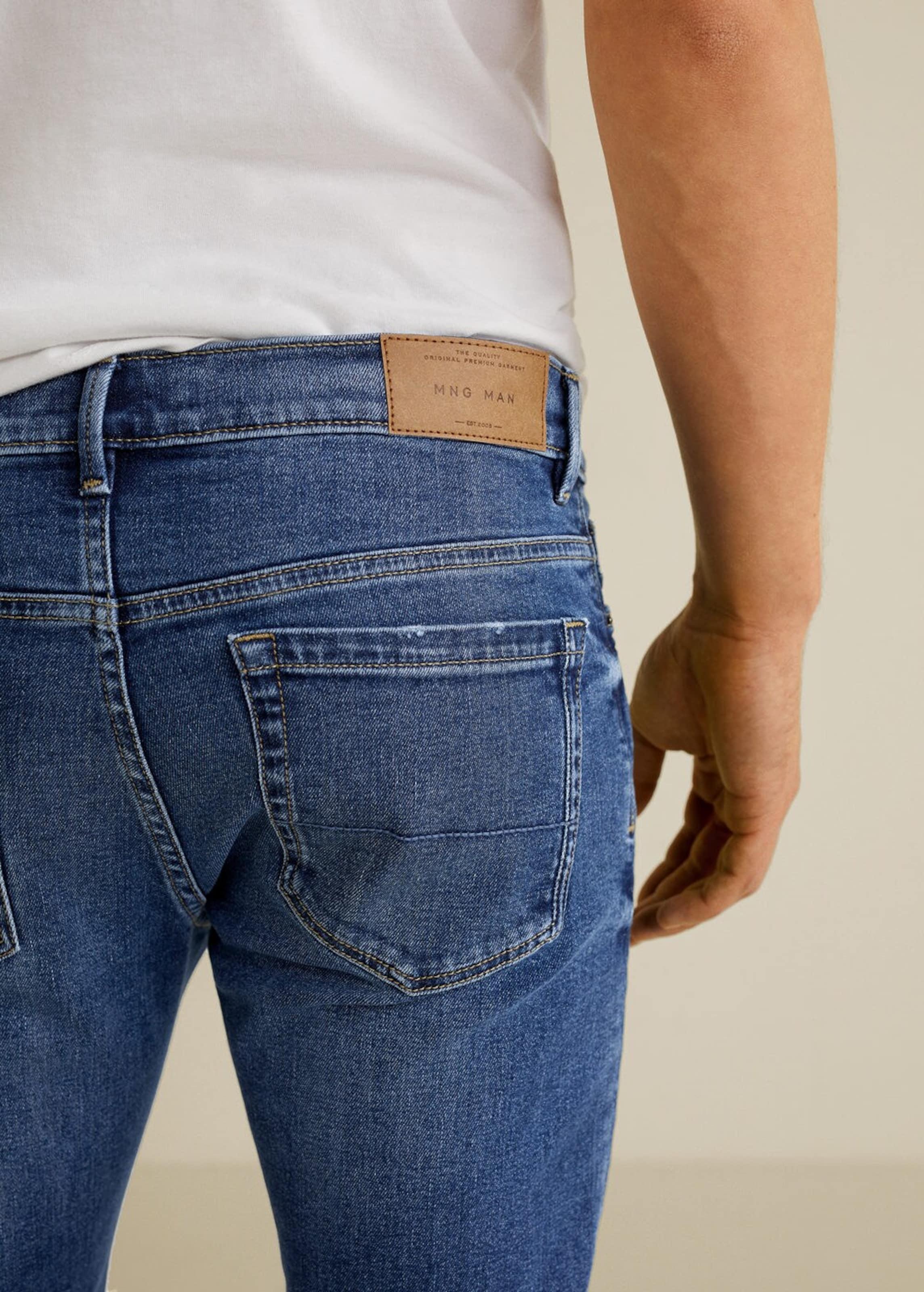 Denim Man Jeans 'jude5' Mango In Blue SzqVpGUM