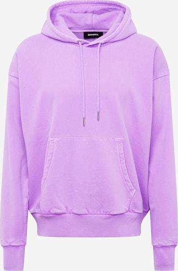 DIESEL Sweatshirt 'Alby Fluo' in lila: Frontalansicht