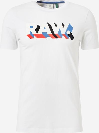 G-Star RAW Shirt in weiß: Frontalansicht