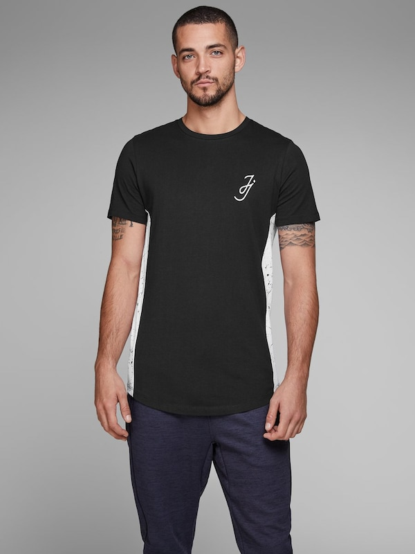Jones Jackamp; Jones ZwartWit Jackamp; Shirt In MVpjqzGLSU