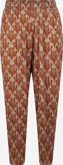 Pantaloni 'MILANO' Junarose pe bej / portocaliu, Vizualizare produs