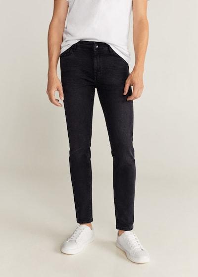 MANGO MAN Jeans 'Jude' in dunkelgrau, Modelansicht
