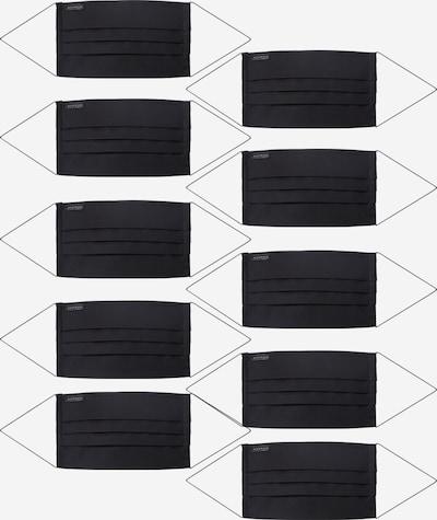 ETERNA Stoffmasken '10er Pack' in schwarz, Produktansicht