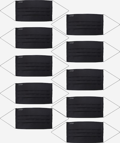 ETERNA Scarf '10er Pack' i svart, Produktvy