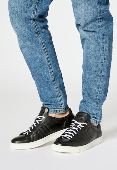 DREIMASTER Sneaker in schwarz / weiß: Frontalansicht