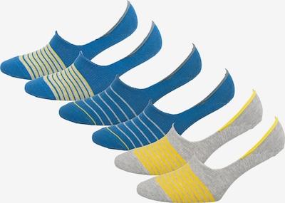 s.Oliver Socken in blau / gelb / grau, Produktansicht
