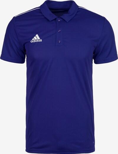 ADIDAS PERFORMANCE Poloshirt 'Core 18' in dunkelblau, Produktansicht