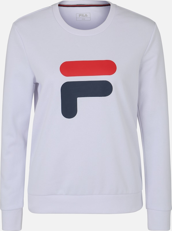 FILA Sportief sweatshirt 'Richie' in de kleur Wit, Productweergave