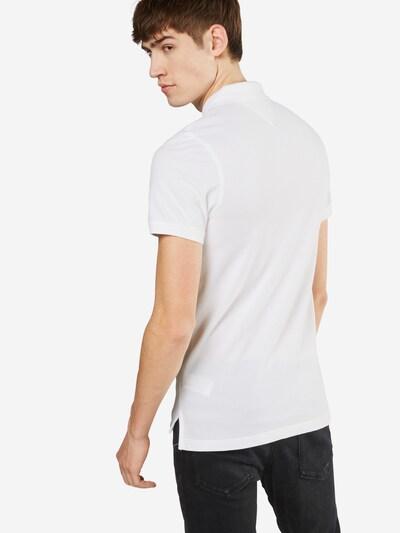 Tommy Jeans Poloshirt 'TJM ORIGINAL FINE PIQUE S/S' in weiß: Rückansicht