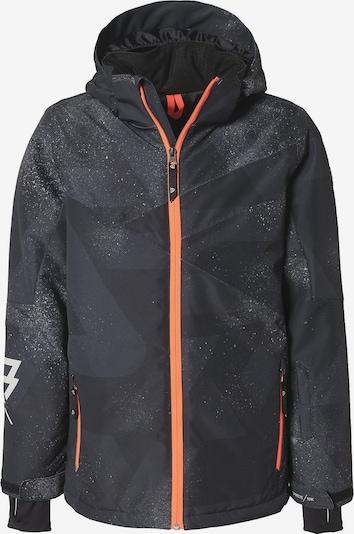 BRUNOTTI Skijacke 'Pander' in basaltgrau / koralle / schwarz, Produktansicht