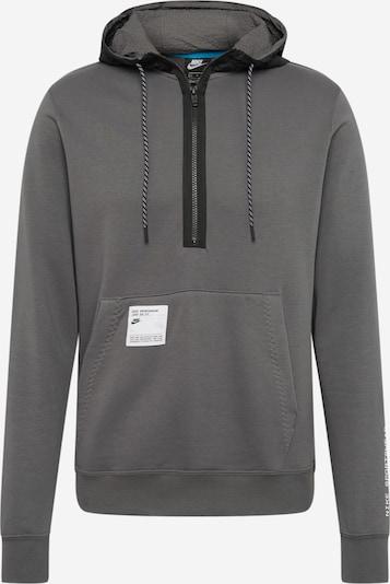 sötétszürke / fekete Nike Sportswear Tréning póló, Termék nézet
