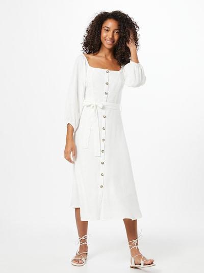 Trendyol Zomerjurk in de kleur Wit, Modelweergave