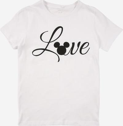 NAME IT T-Shirt 'MICKEY' en noir / blanc, Vue avec produit