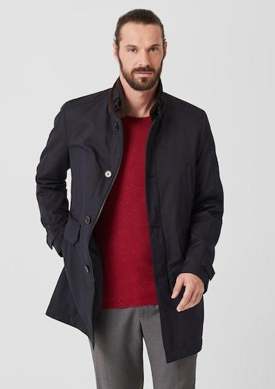 s.Oliver BLACK LABEL Mantel in nachtblau, Modelansicht