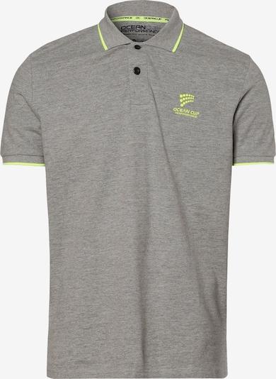 Ocean Cup Poloshirt in grau, Produktansicht