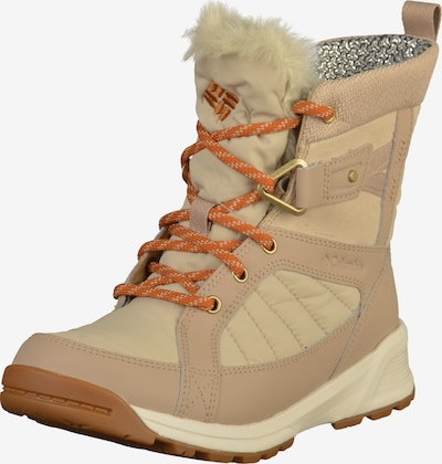 COLUMBIA Winterstiefel 'Meadows Shorty Omni-Heat 3D' in hellbeige / cappuccino, Produktansicht