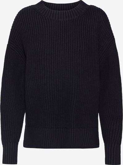 SELECTED FEMME Pullover 'SLFBAILEY LS KNIT SLIT O-NECK NOOS' in schwarz, Produktansicht