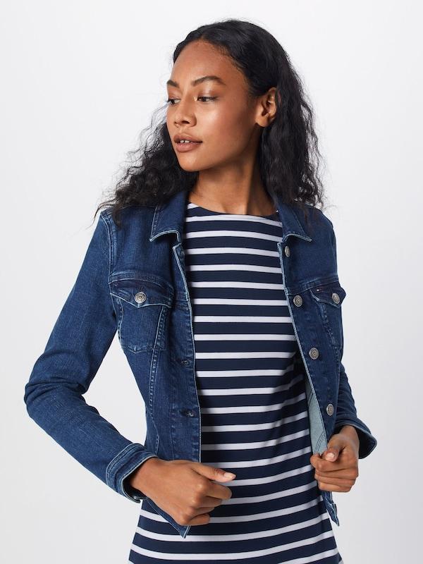 'slim Vivianne' Veste saison Jeans Trucker Bleu Mi Tommy Denim En reBCxWdo