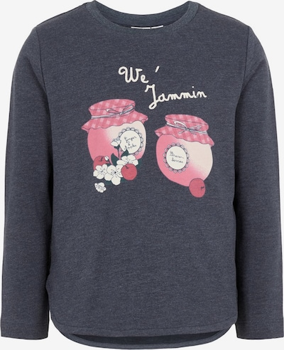 NAME IT Sweatshirt in navy / pink / weiß, Produktansicht