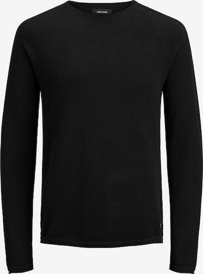JACK & JONES Pullover 'HILL' in schwarz, Produktansicht
