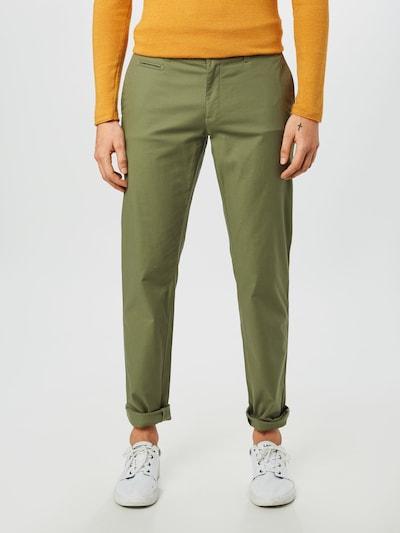 BRAX Pantalon chino 'Fabio In' en vert clair, Vue avec modèle