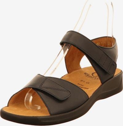 Ganter Sandalen in dunkelbraun, Produktansicht