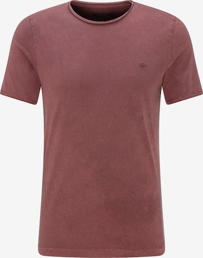 MUSTANG T-Shirt 'Fancy Tee' in kirschrot, Produktansicht
