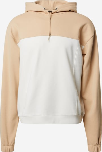 NU-IN Sweatshirt in de kleur Beige / Wit, Productweergave