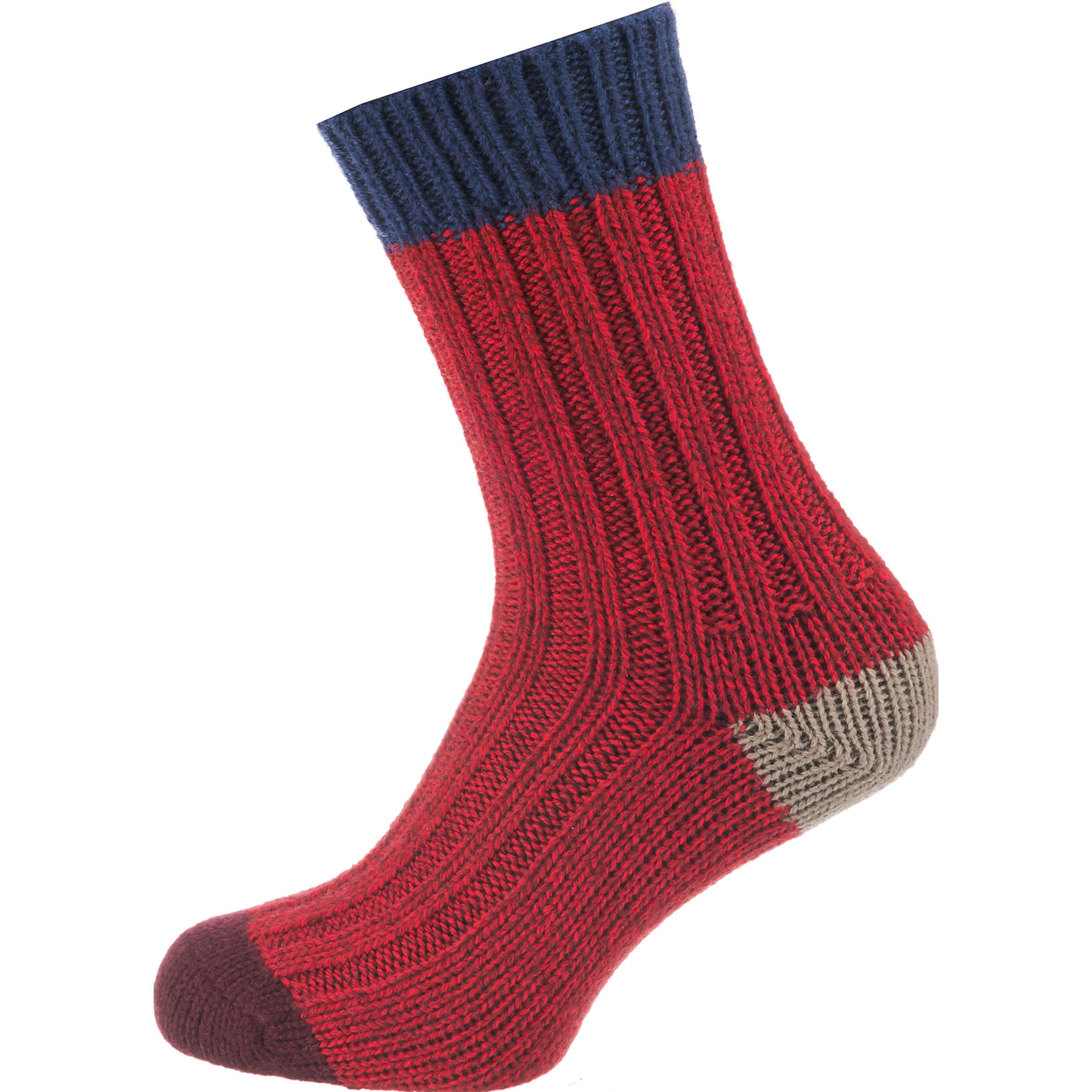 BeigeNachtblau Rot Socken oliver In S fv6bgY7y