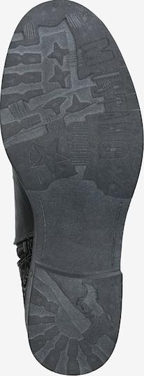 MUSTANG Bottines à lacets en noir: Vue de dessous