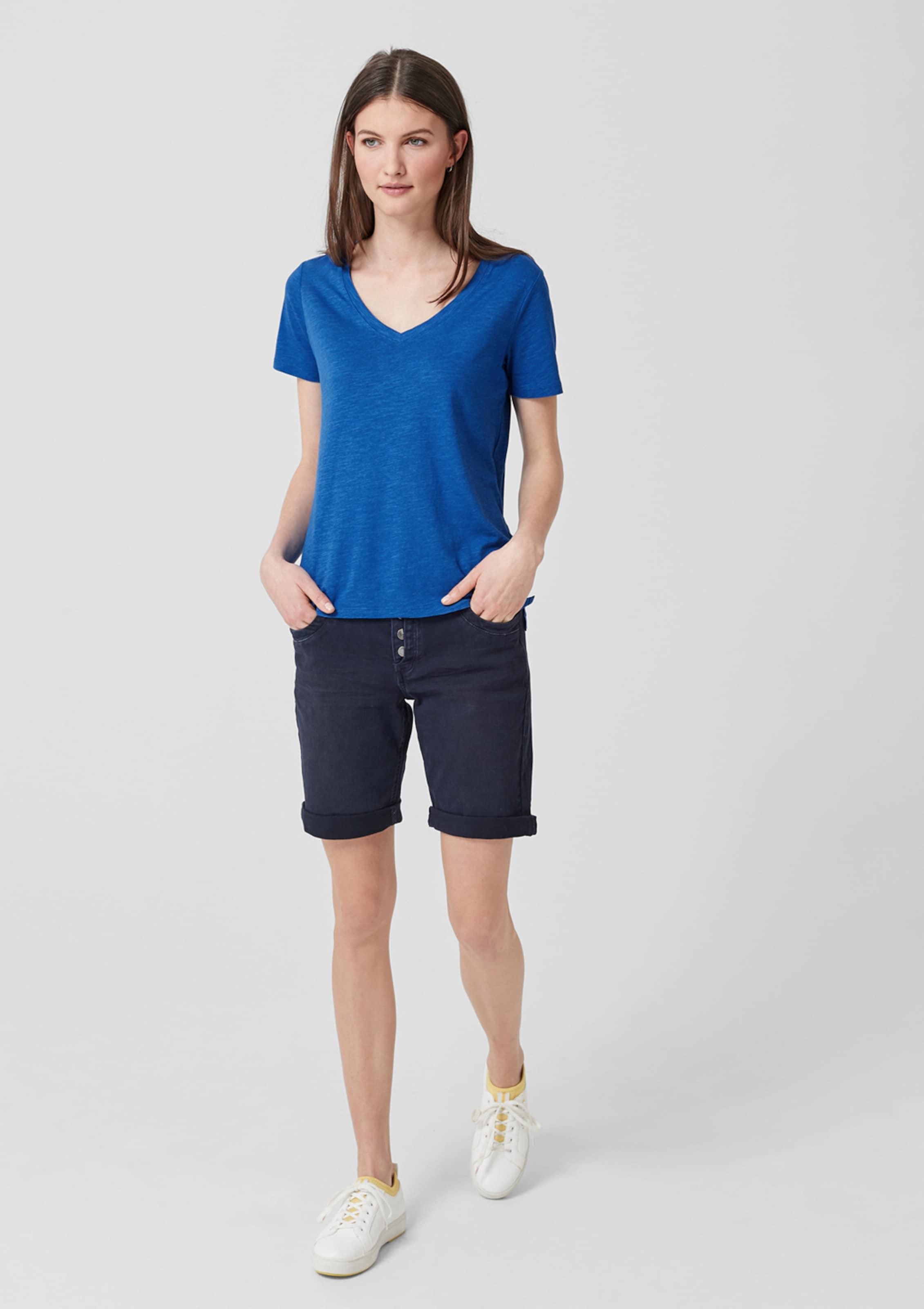 oliver Red Blau S Label In Shirt lFJcuK5T13