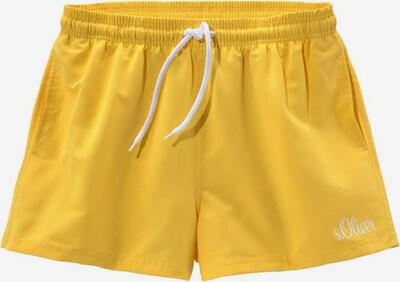 s.Oliver Badeshorts in gelb, Produktansicht