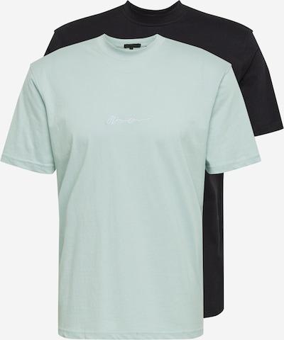 Mennace Koszulka 'Essential' w kolorze opal / czarnym, Podgląd produktu