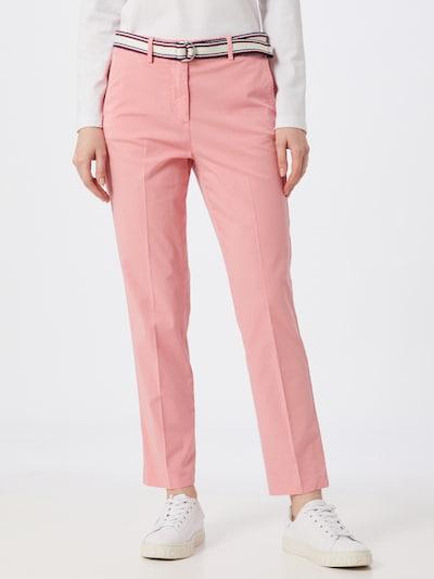 TOMMY HILFIGER Spodnie w kolorze różowym, Podgląd na modelu(-ce)