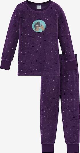 SCHIESSER Schlafanzug in lila, Produktansicht