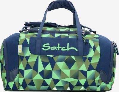 Satch Tasche in navy / khaki / kiwi, Produktansicht