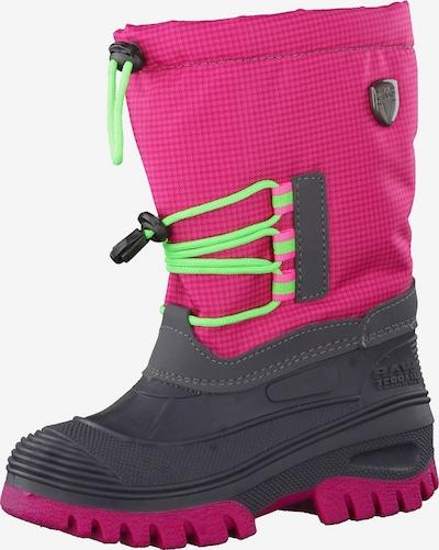 CMP Winterschuhe 'Ahto WP' in neongrün / pink / schwarz, Produktansicht